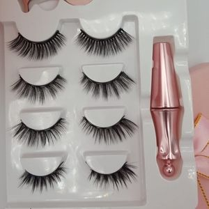 Other - Reusable Magnetic Eyelashes #FC06 (4 Pairs)